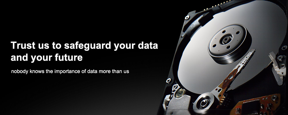 Trust us to safeguard your data and your future.nobody knows the importance of data more than us.